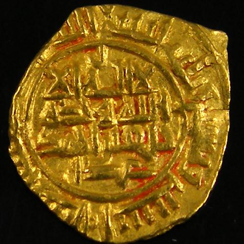 ANCIENT PERSIAN GOLD FRACTIONAL DINAR 981-1003 AD. APC2