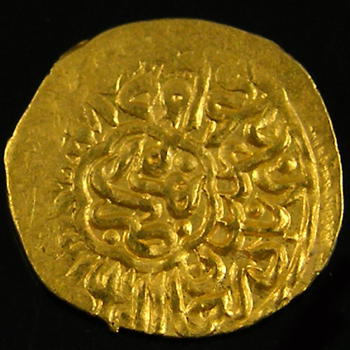 ANCIENT PERSIAN GOLD 1/4 MESQUAL COIN 1523-1576 AD. APC5