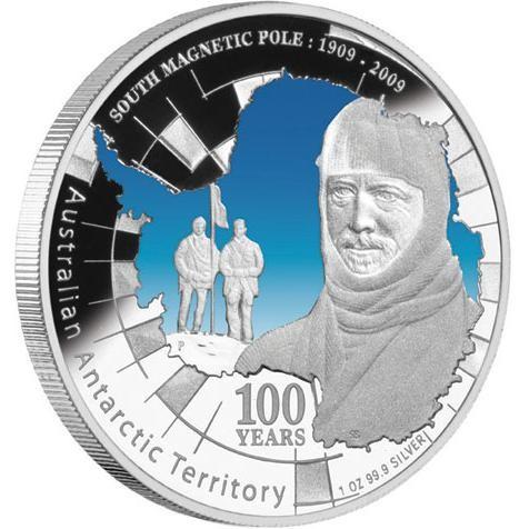 Australian Antarctic Territory South Magnetic Pole 1909-2009