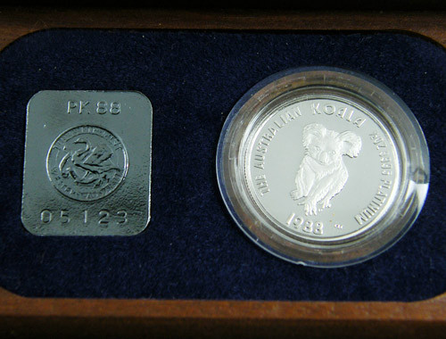1988 PROOF PLATINUM HALF OUNCE  COIN  CERTIFIED CO 709