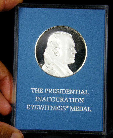 1974 GERALD FORD INAGURATION SILVER MEDAL  CO 723