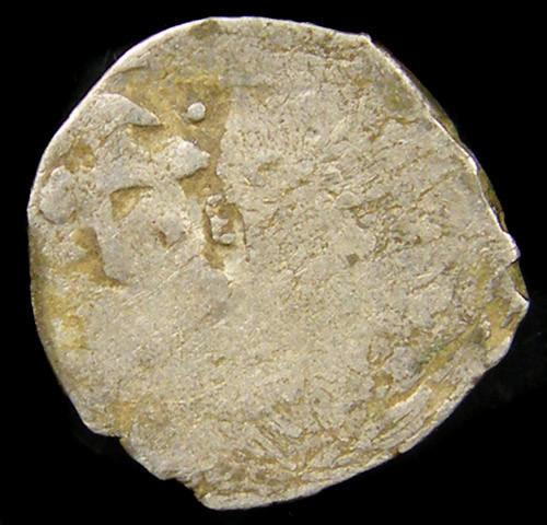 MEDIEVAL ISLAMIS SILVER  DIRHAM  13-14TH CEN COIN J 765
