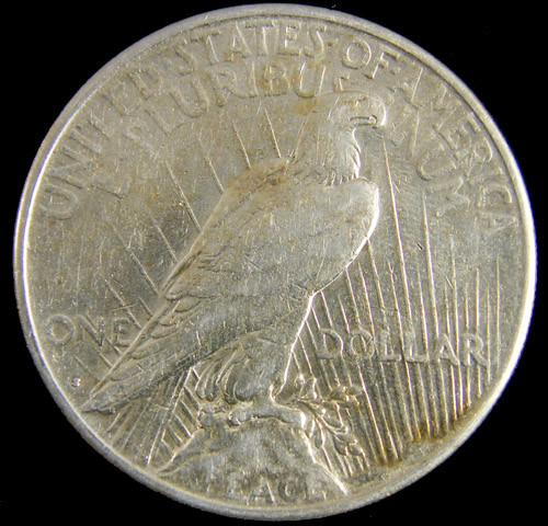 1922  PEACE DOLLAR SILVER COIN   CO 806