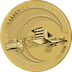 Centenary of Powered Flight Stamp and Coin Cover