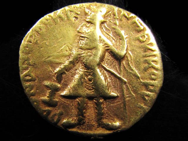 ANCIENT ROMAN  COIN  GOLD /PLATED REPO  J 782