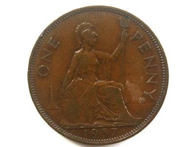 ONE PENNY 1937  OP71