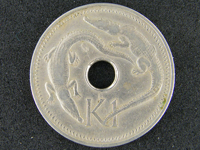 PAPUA NEW GUINEA     1 K                OP930
