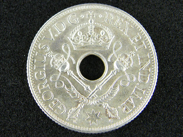 PAPUA NEW GUINEA  ONE SHILLING 1936              OP941