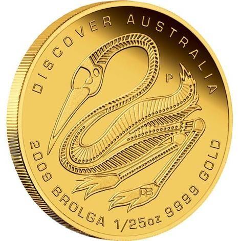Discover Australia 2009 Dreaming – Brolga 1/25oz