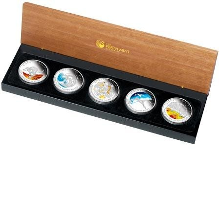 VIDEO Discover Australia 2009 Dreaming– Five-Coin Silver Set