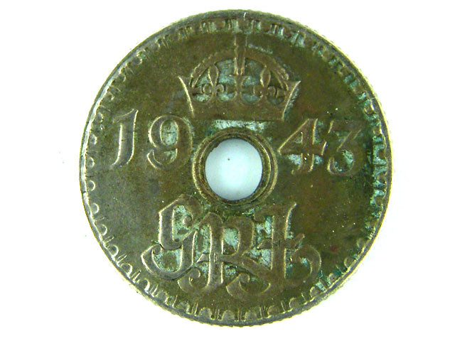 PAPUA NEW GUINEA   ,1943 SIX PENCE  OP 985