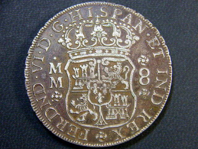 VIDEO RARE 8 REALES 1796     OP 989