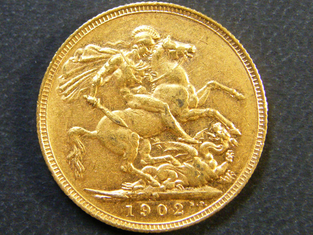 GOLD SOVERIGN PERTH MINT 1902    CO3