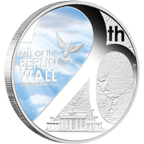 THE FALL OF THE BERLIN WALL AT OFFICIAL LIST PRICE