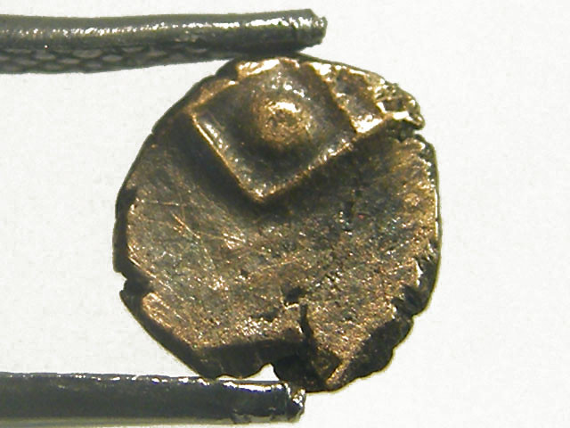INDIA GOLD COIN MED  PURITY FANAMS 17-18TH CENT  OP 1121