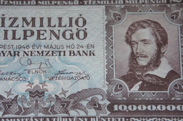 Hungary Tízmillió (10.000.000) Milengő 1946
