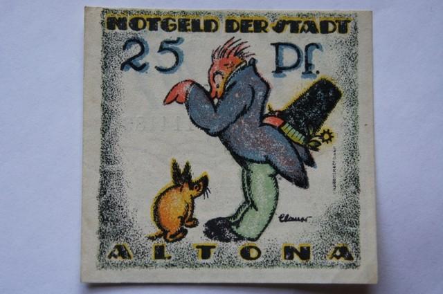 GERMANY NOTGELD 25 Pfennig  1921