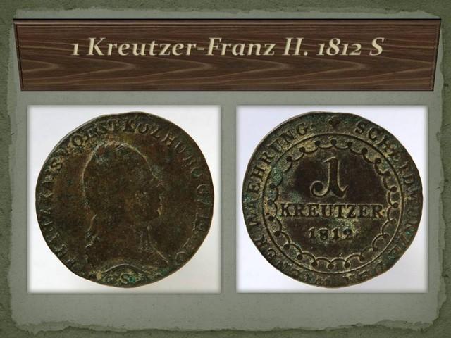 Austria 1 Kreutzer-Franz II. 1812 S KM#2112
