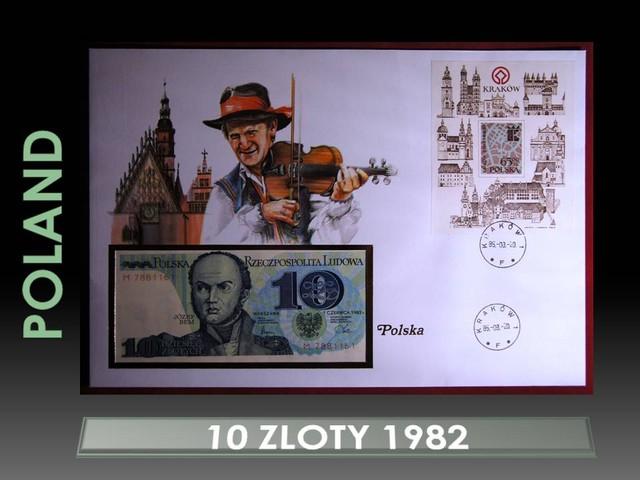 Poland 10 Zloty 1982 UNC