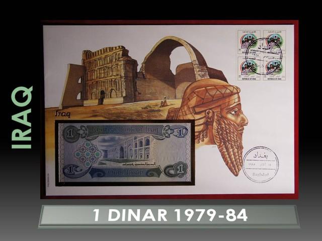 Iraq 1 Dinar 1979-84 UNC