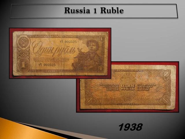 Russia 1 Ruble 1938