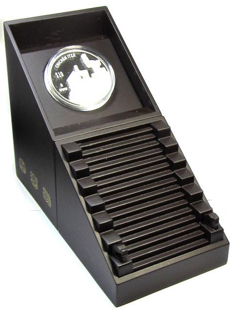 2 OZ Silver 2012 Chichen Itza Proof Coin Temple Warriors
