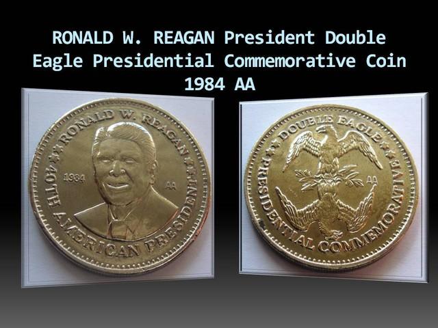 RONALD W. REAGAN  Double Eagle Commemorative coin 1984 AA