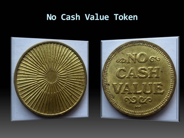 No Cash Value Token