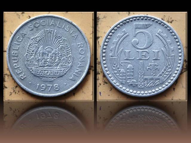 Romania 5 Lei 1978 KM#97