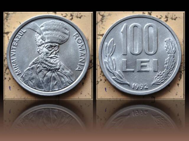 Romania 100 Lei-Mihai Viteazul 1992 KM#111