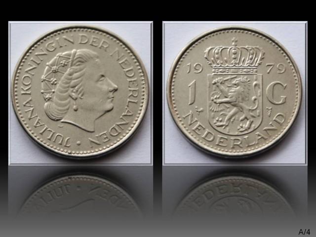 Netherlands 1 Gulden-Juliana 1979 KM#184a