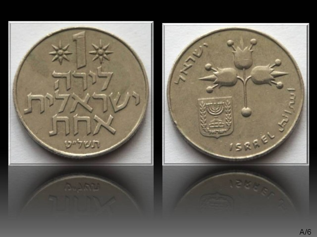 Israel 1 Lira 1979 KM#47