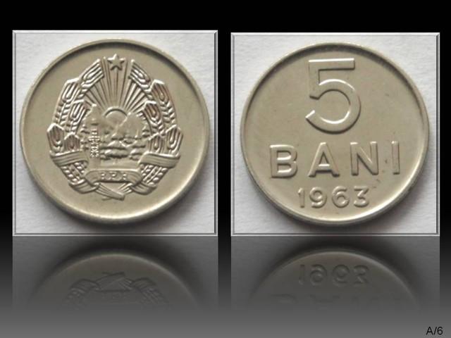 Romania 5 Bani 1963 KM#89