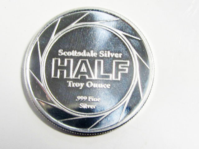 SCOTTSDALE HALF OUNCE  SILVER TRADE UNIT  CO 1700