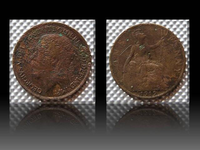 United Kingdom 1 Penny-George V. 1919 KM#810