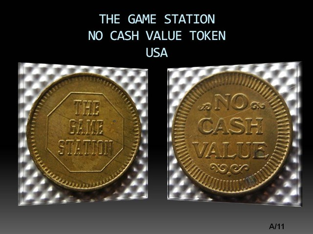 USA The game station-No Cash Value TOKEN