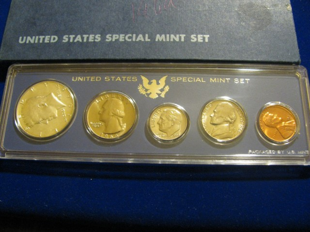 1966 Special Mint Set All OGP Complete w/40% Silver Kennedy
