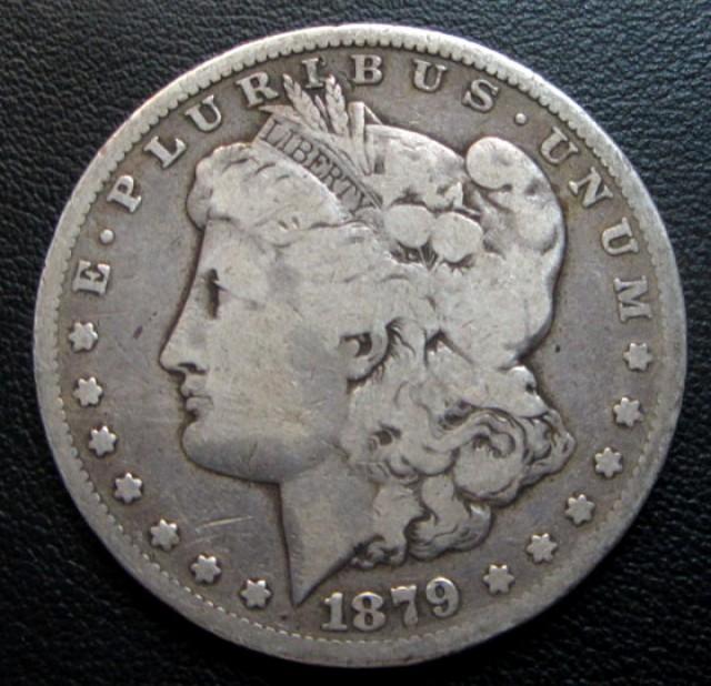 1879 MORGAN DOLLAR SILVER COIN   CO 1700