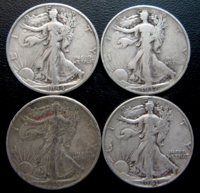 1916-1947  Walking Liberty Half Dollar CO 1710