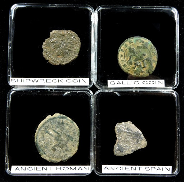 SHIPWRECK & ANCIENT COIN TREASURES 8-150 (SAT)