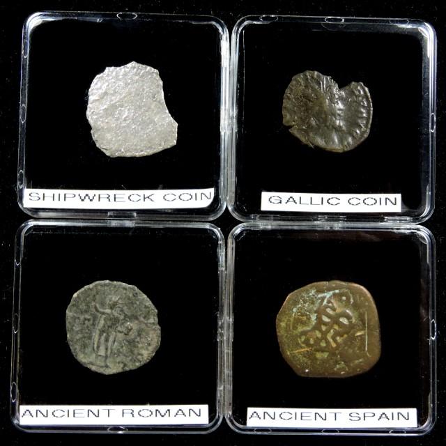 SHIPWRECK & ANCIENT COIN TREASURES 14-150 (SAT)