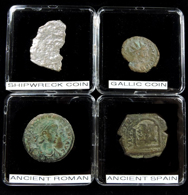 SHIPWRECK & ANCIENT COIN TREASURES 15-150 (SAT)