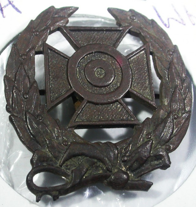 WW11 Machine Gun badge   AGR1367