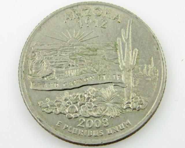 United States. Arizona Quarter 1 CO 2029
