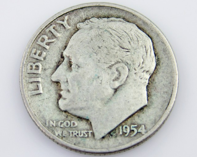 United State ten Cent 1954 CO 2031