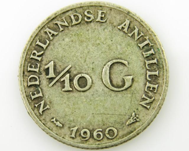 Colonial dutch silver  .640 coin coin CO 2040