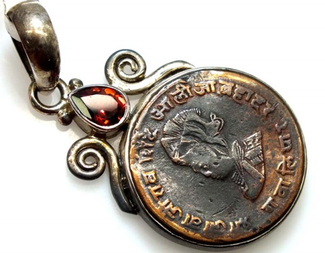 COLLECTABLE COIN PENDANT JEWELRY 53 CTS TBC-2