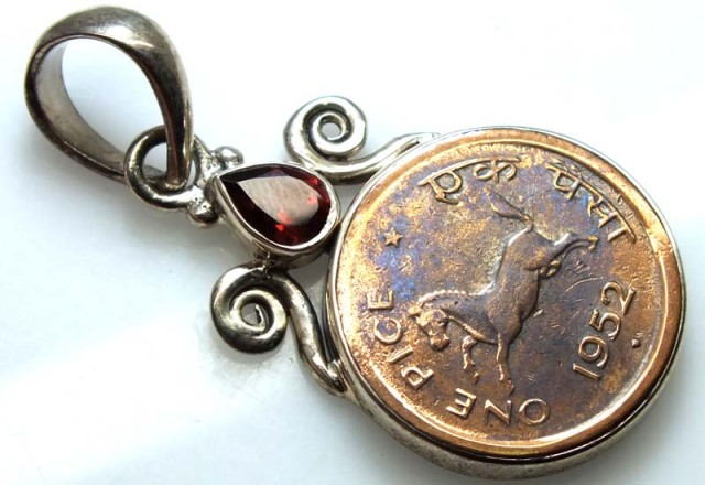 COLLECTABLE COIN PENDANT JEWELRY 40 CTS TBC-6