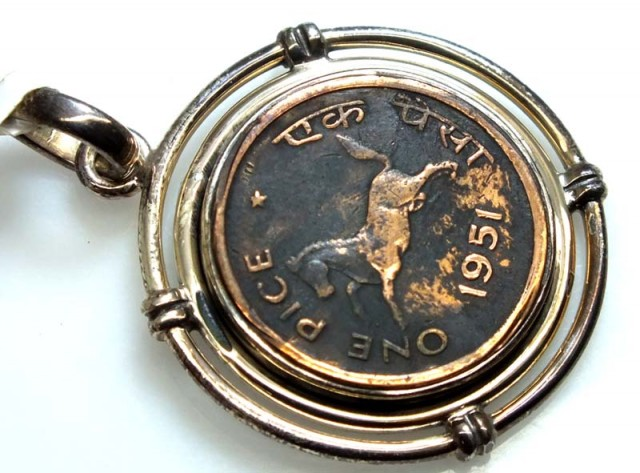COLLECTABLE COIN PENDANT JEWELRY 45 CTS TBC-9