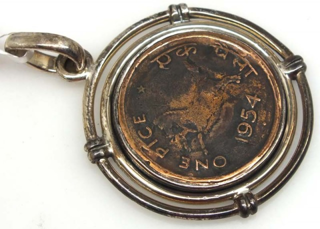 COLLECTABLE COIN PENDANT JEWELRY 40 CTS TBC-11